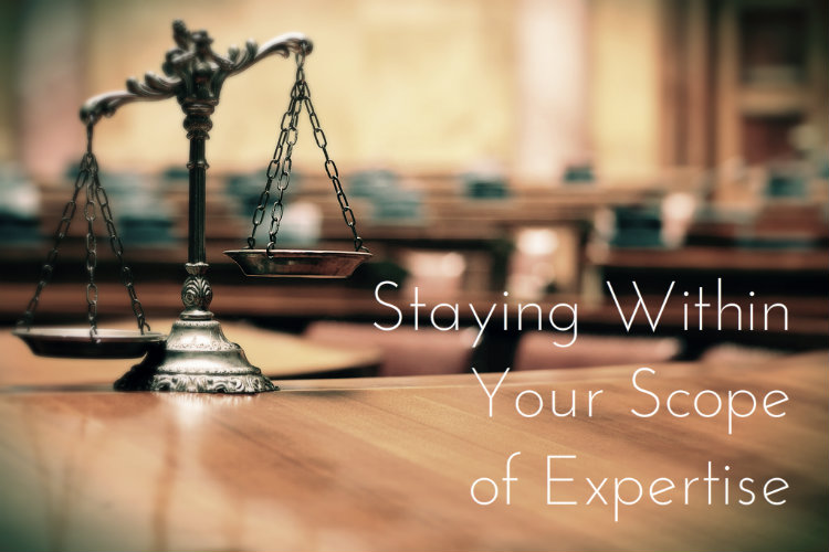 Staying Within Your Scope of Expertise